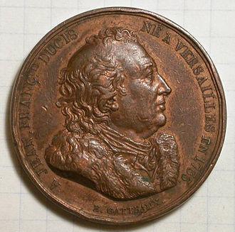 Jean-François Ducis - Medal portraying Jean-François Ducis.