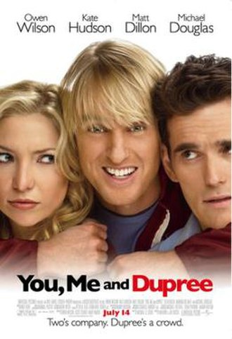 You, Me and Dupree - Theatrical release poster