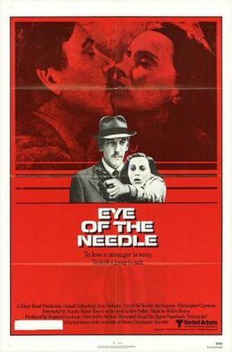 Eye of the Needle (film) - Theatrical release poster