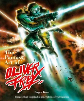 Oliver Frey - cover of The Fantasy Art of Oliver Frey