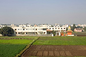 Abhona - Farms around Abhona.
