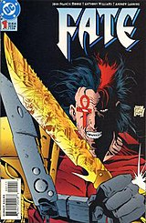 Fate #1 (November 1994) featuring Jared Stevens, cover art by Anthony Williams and Andy Lanning.