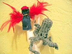 Finger puppet 001
