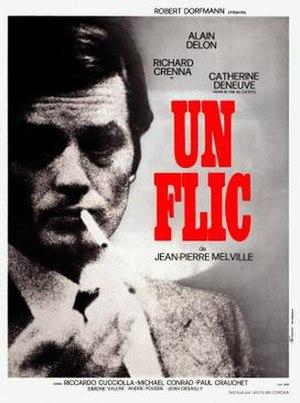 Un flic - original film poster