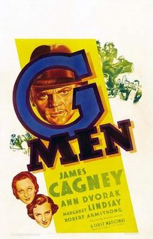 G Men - Theatrical release poster