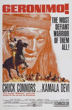 Geronimo (1962 film) - Image: Geronimo Film Poster