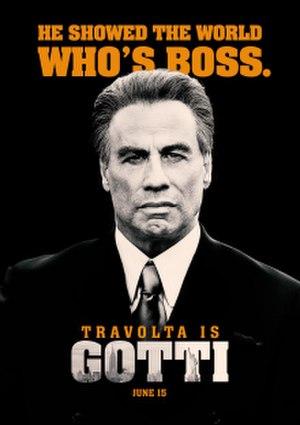 Gotti (2017 film) - Theatrical release poster