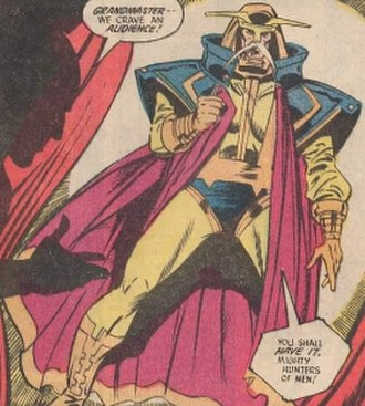 Manhunters (DC Comics) - Image: Grandmaster (DC Comics)