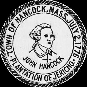 Hancock, Massachusetts - Image: Hancock MA seal