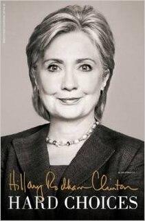 <i>Hard Choices</i> book by Hillary Clinton