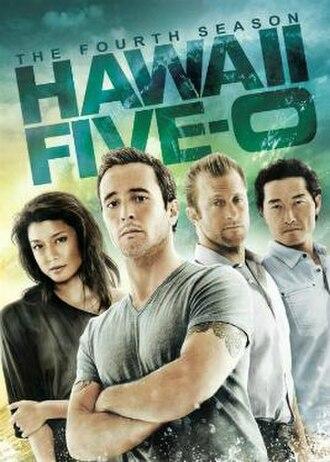 Hawaii Five-0 (2010 TV series, season 4) - Season 4 U.S. DVD cover