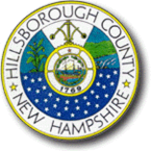 Hillsborough County, New Hampshire - Image: Hillsborough County, New Hampshire seal