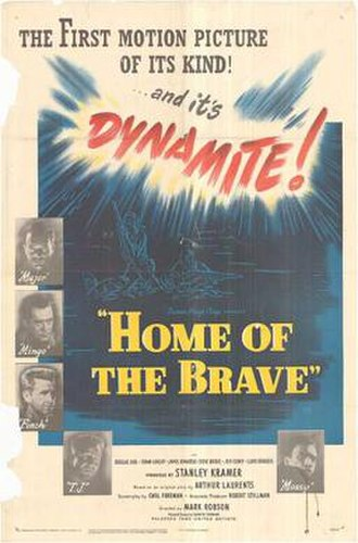 Home of the Brave (1949 film) - Theatrical release poster
