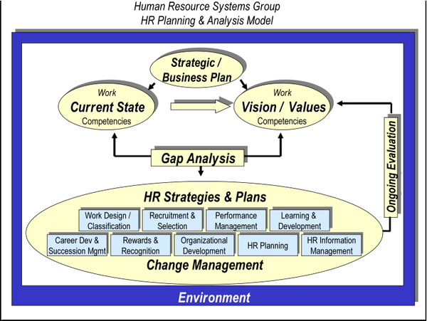 an analysis of the link between the business strategy human resource strategy and the reward managem