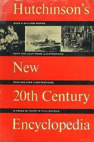 Hutchinson Encyclopedia - Cover of the 1964 edition