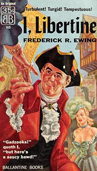 I, Libertine - Cover of first edition (paperback)