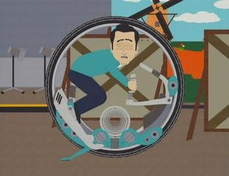 "The Entity (South Park) - John Travolta riding ""IT"""