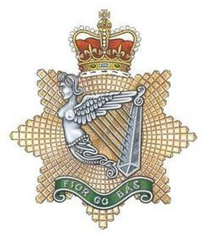 Irish Regiment of Canada - Image: I Regt C Badge