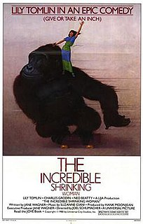 <i>The Incredible Shrinking Woman</i> 1981 film by Joel Schumacher