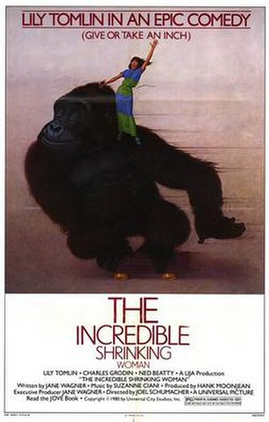 The Incredible Shrinking Woman - Theatrical release poster