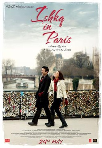 Ishkq in Paris - Theatrical Poster