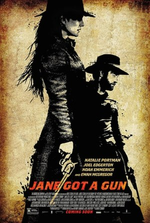 Jane Got a Gun - Theatrical release poster