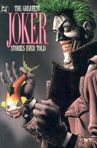 Brian Bolland - Brian Bolland's variant cover of The Greatest Joker Stories Ever Told (Dec. 1988)