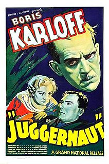 <i>Juggernaut</i> (1936 film) 1936 film by Henry Edwards