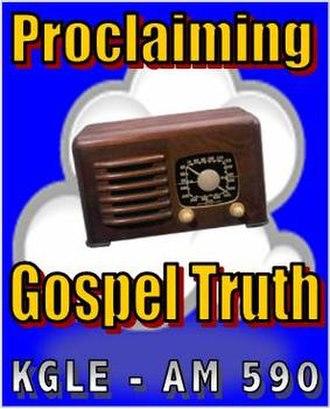 KGLE - Image: KGLE logo