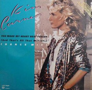 You Make My Heart Beat Faster (And That's All That Matters) - Image: Kim Carnes You Make My Heart Beat Faster single cover