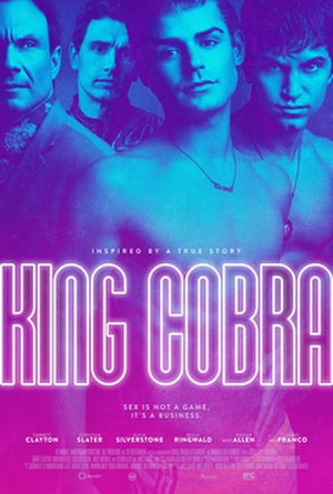 King Cobra (2016 film) - Theatrical release poster