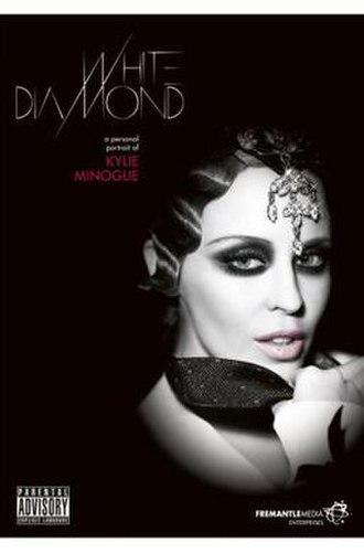 White Diamond: A Personal Portrait of Kylie Minogue - Official release cover