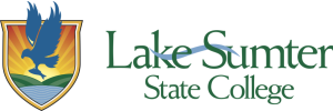 Lake–Sumter State College's logo.