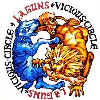 Vicious Circle (L.A. Guns album) - Image: Lagunsviciouscircle