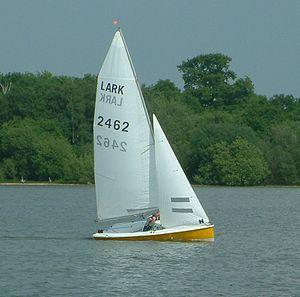 "Lark (dinghy) - Lark 2462 ""Mr Bigglesworth"""