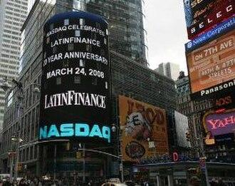LatinFinance - LatinFinance 20th anniversary celebrations, Times Square, New York