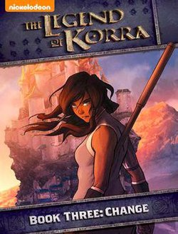 Avatar:The Legend of Korra 3 Change