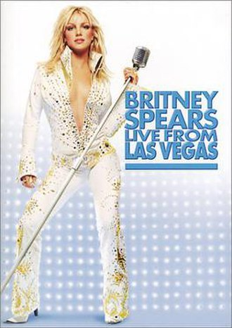 Britney Spears Live from Las Vegas - Image: Live from Las Vegas (Britney Spears) DVD boxart