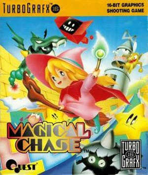 Magical Chase - Image: Magical Chase video game cover