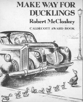 Make Way for Ducklings - Make Way for Ducklings received the 1942 Caldecott Medal for its illustrations.
