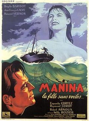 Manina, the Girl in the Bikini - Original French-language poster
