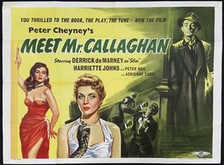 <i>Meet Mr. Callaghan</i> 1954 film by Charles Saunders