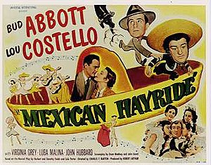 Mexican Hayride - Theatrical release poster