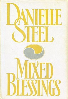 <i>Mixed Blessings</i> (novel) novel by Danielle Steel