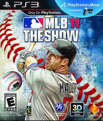 MLB 11: The Show - Cover art of MLB 11: The Show