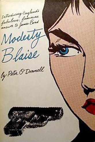 Modesty Blaise - Image: Modesty Blaise