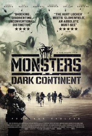 Monsters: Dark Continent - Official poster