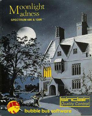 Moonlight Madness (video game) - Cover art