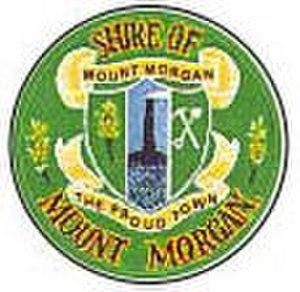 Shire of Mount Morgan - Image: Mount Morgan Logo