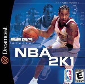 NBA 2K1 - Image: NBA 2K1 Cover